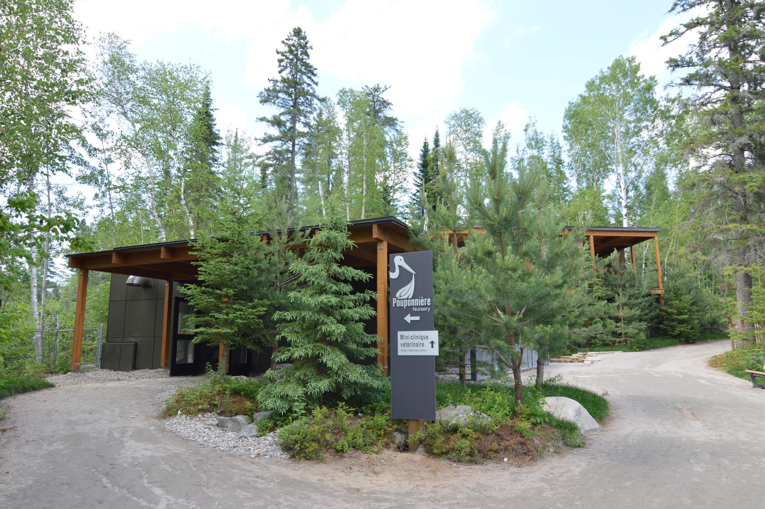 Pouponnière du Zoo de Saint-Félicien